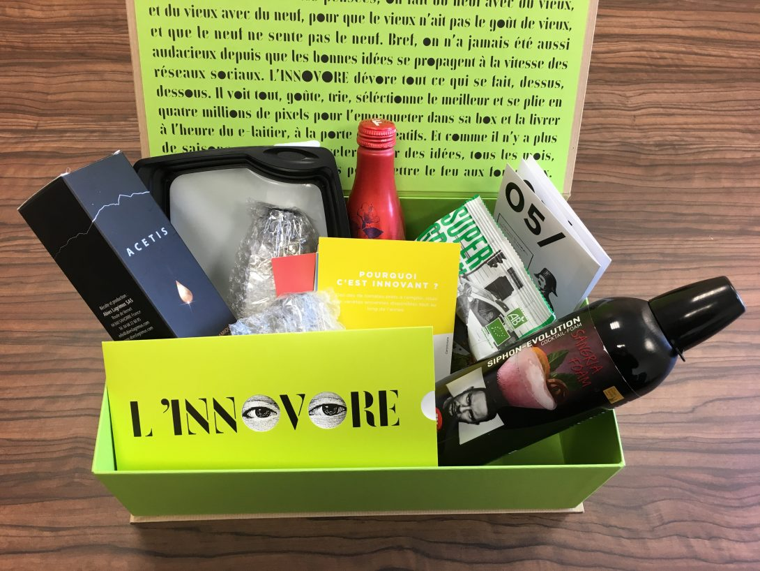 The Innovore Box - innovations of the catering industry | Torus Pak